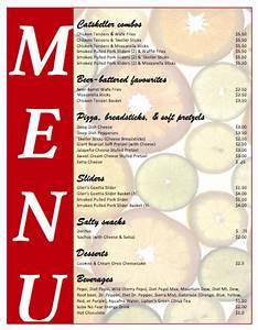 all purpose food menu template microsoft word templates With food menu templates for microsoft word