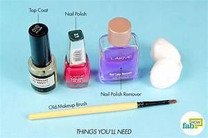 How To Apply Nail Polish Like A Pro  Step