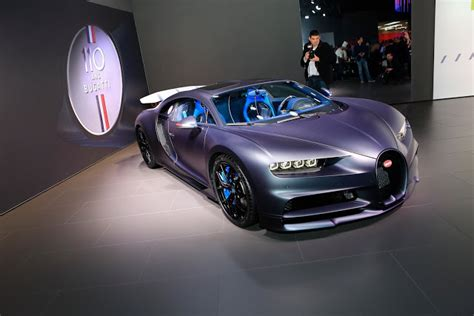 The anniversary versions of the cars are always interesting. Bugatti New Chiron Sport '110 Ans' Edition - MS+ BLOG
