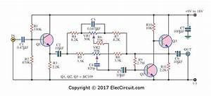 Bass Treble Tone Control Circuit Diagram