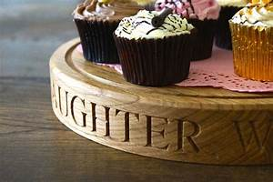 Get, Your, Own, Personalised, Wooden, Cake, Stands