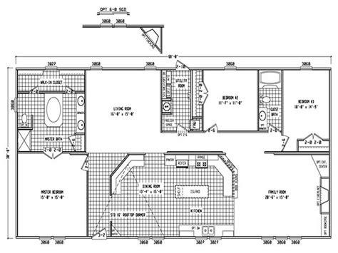 2 bedroom 1 bath mobile home floor plans 3 bedroom 2 bath single wide mobile home floor plans