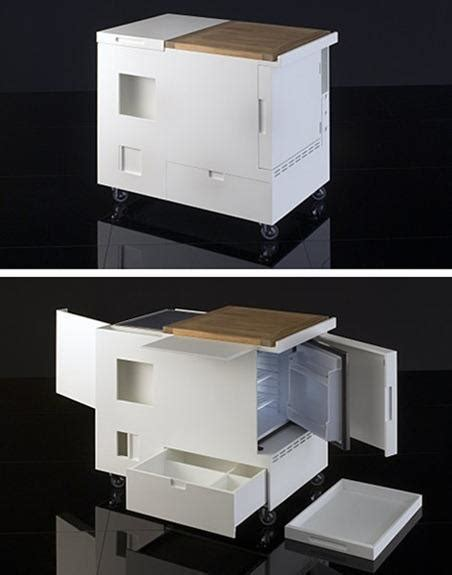 kitchenette ideal  cocinas pequenas espaciohogarcom
