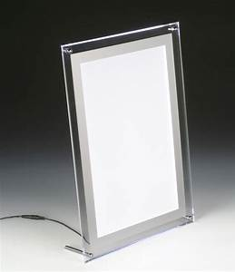 Led Light Box : slim light box countertop or wall mount frame ~ Teatrodelosmanantiales.com Idées de Décoration