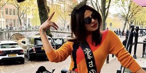 Priyanka Chopras Bachelorette Party Pictures From Amsterdam