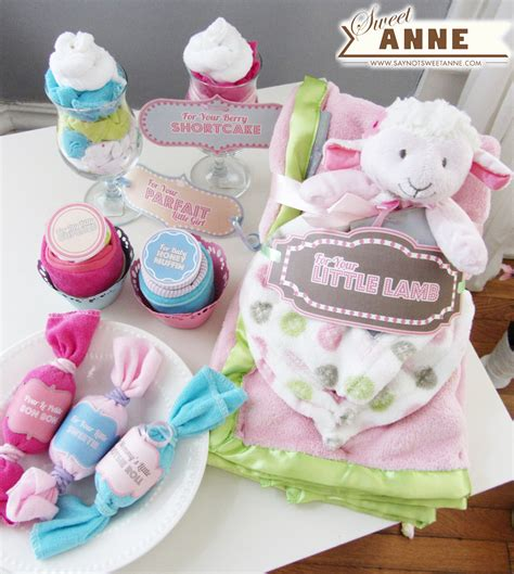 Baby Shower Gifts  [free Printable]  Sweet Anne Designs