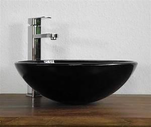 Waschbecken Aufsatz Für Badewanne : schwarzes waschbecken f r das badezimmer ~ Markanthonyermac.com Haus und Dekorationen