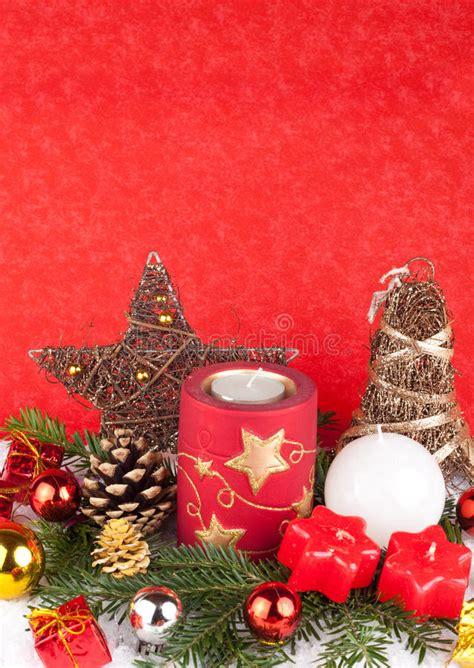 Immagini Di Candele Di Natale by Candele Di Natale Come Scheda Di Natale Fotografia Stock