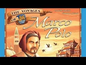 The Voyages of Marco Polo - Board Game Playthrough - YouTube