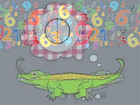 number eating alligator song youtube