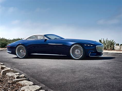 Maybach Concept Car by Mercedes Maybach Just Unveiled A Stunning Convertible