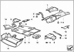 Original Parts For E36 318ti M44 Compact    Vehicle Trim   Heat Insulation
