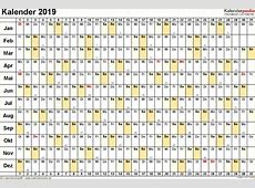Kalender 2019 Doc – Home Sweet Home