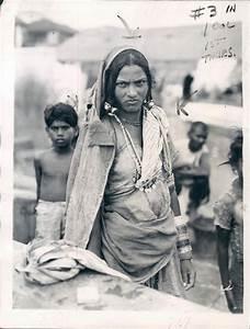 Dalit or Untouchable Woman of Bombay (Mumbai) according to ...
