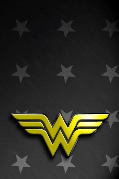 Wonder Woman Logo Wallpaper WallpaperSafari