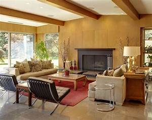 10 Mid-Century Living Rooms - Best Midcentury Modern