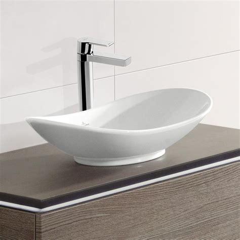 aufsatzwaschbecken villeroy und boch villeroy boch my nature aufsatzwaschtisch oval wei 223 mit ceramicplus 411060r1 emero de