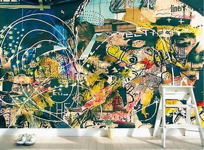 Graffiti Abstract Adhesive Self Extra Removable