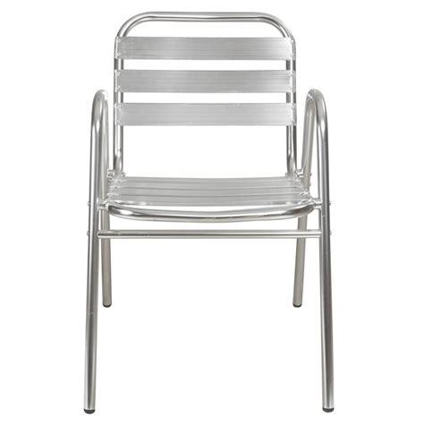 table bistrot aluminium chaise terrasse aluminium mobilier restaurant mobeventpro