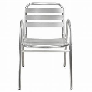 Chaise De Jardin Aluminium : chaise aluminium jardin chaise plastique maison email ~ Teatrodelosmanantiales.com Idées de Décoration