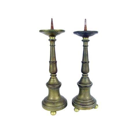 candelieri antichi coppia di candelieri antichi in bronzo ideali per lade