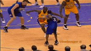 gif NBA Basketball crossover Allen Iverson nba-4-life •