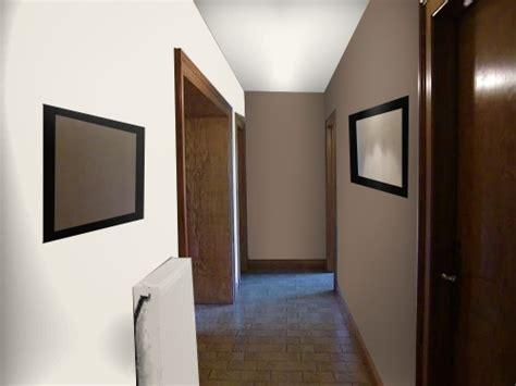chambre couleur et taupe peinture d 39 un couloir étroit et assez