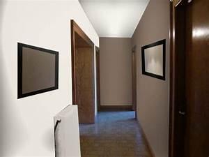 comment agrandir un couloir en peinture stunning id es d With superb association de couleurs avec le gris 10 comment associer la couleur parme dans sa deco