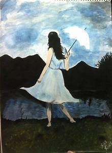 Lonely Girl - Painting | Anjali Kaushik | Touchtalent