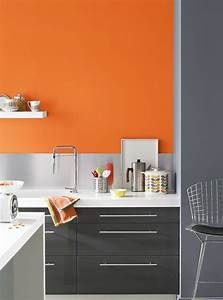 Grey and orange grey orange soso sociallead http for Kitchen colors with white cabinets with papier photo polaroid