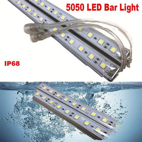 glue waterproof led bar lights 100cm 21w m 1m ip68 led