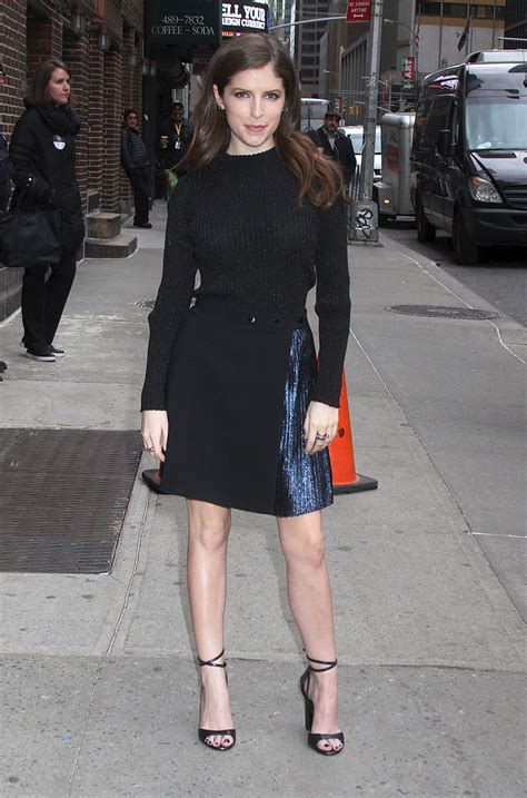 Anna Kendrick - Visits 'The Late Show with Stephen Colbert ...