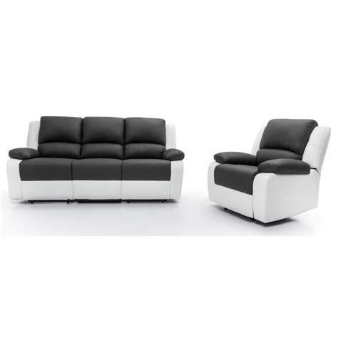 ensemble canapé fauteuil relax ensemble canapé relaxation 3 places fauteuil