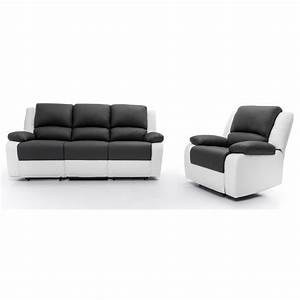 RELAX Ensemble Canap Relaxation 3 Places Fauteuil