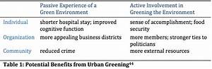 place attachment meaning green cities health