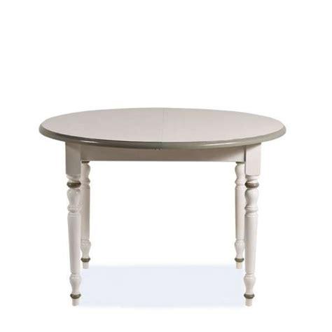 table en bois ronde proven 231 ale avec rallonge 4 pieds