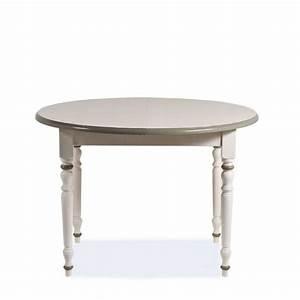 Table Ronde Avec Rallonge : table en bois ronde proven ale avec rallonge 4 pieds tables chaises et tabourets ~ Teatrodelosmanantiales.com Idées de Décoration