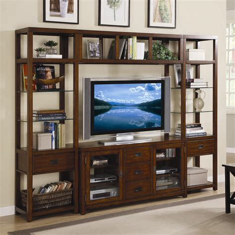saginaw on wall units furniture furniture danforth open entertainment wall unit