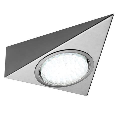 gx53 mains led cabinet triangle light
