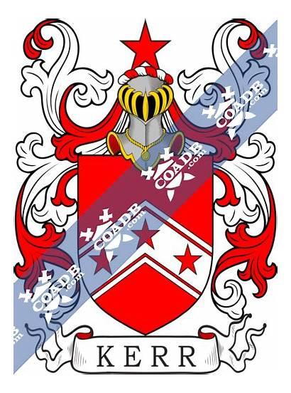 Kerr Arms Crest Coat History