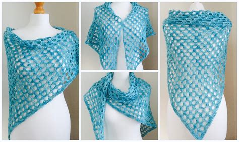 Free Pattern 'spirit Of Summer' Crochet Shawl  Crafts From The Cwtch