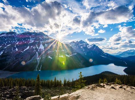 Canada Banff Alberta Wallpaper Nature And Landscape