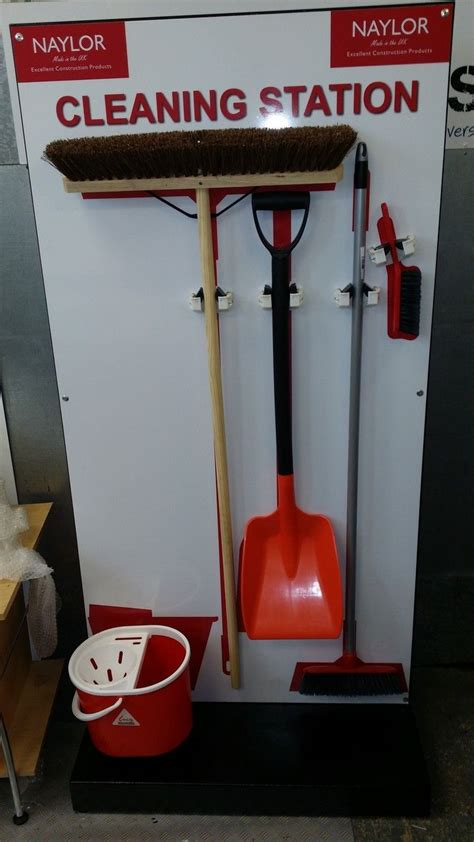 cleaning station tool shadowboard  standing