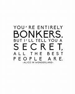 Mad Alice In Wonderland Quotes. QuotesGram