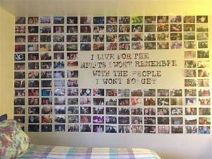 Diy photo wall ideas without frames : Best ideas about photo collage walls on