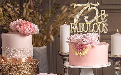 amazoncom  fabulous gold cake topper premium