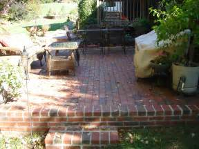 Image of: 30 Vintage Patio Design Brick Brick Patio   Designs For Your Garden