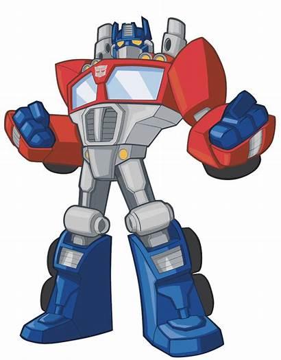 Transformers Bots Rescue Optimus Prime Transfer Decal