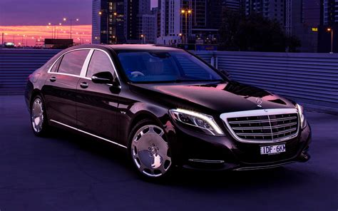 Mercedes-maybach S-class (2015) Au Wallpapers And Hd