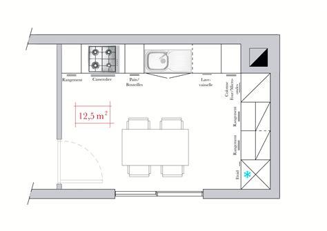 plan cuisine 10m2 plan cuisine le bois chez vous